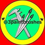 3paintbrushes - Ярмарка Мастеров - ручная работа, handmade