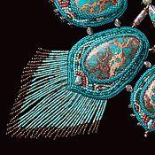 Украшения handmade. Livemaster - original item Turquoise necklace