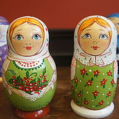 Русский стиль handmade. Livemaster - original item Dolls for checks. Handmade.
