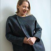 """Одежда ручной работы. Ярмарка Мастеров - ручная работа Пальто ручной работы """"Love street""""  Кокон.. Handmade."""