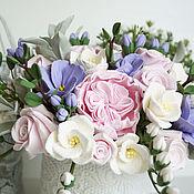Цветы и флористика handmade. Livemaster - original item flowers in a box. Flowers polymer clay handmade.. Handmade.