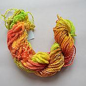 Материалы для творчества handmade. Livemaster - original item Mix of 5 different threads for embroidery (№45). Handmade.