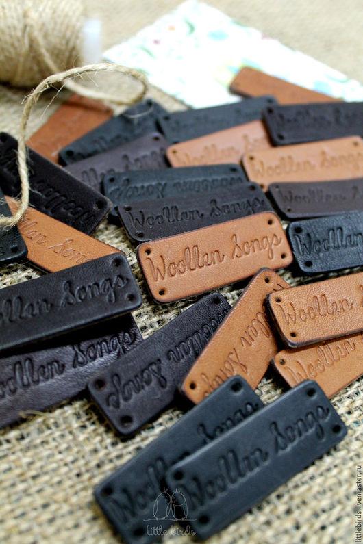 Упаковка ручной работы. Ярмарка Мастеров - ручная работа. Купить Бирочки кожаные. Handmade. Бирочка на заказ, бирочка, этикетка