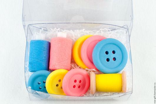 Мыло ручной работы. Ярмарка Мастеров - ручная работа. Купить Подарочный набор мыла для рукодельницы. Handmade. Подарок на новый год