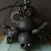 Для дома и интерьера ручной работы. Ярмарка Мастеров - ручная работа Элемент интерьера в стимпанк стиле. Handmade.