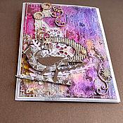 Открытки ручной работы. Ярмарка Мастеров - ручная работа открытка. Handmade.