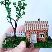 Куклы и игрушки ручной работы. Ярмарка Мастеров - ручная работа Дачный домик. Handmade.