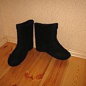 Обувь ручной работы. Ярмарка Мастеров - ручная работа полуваленки мужские. Handmade.