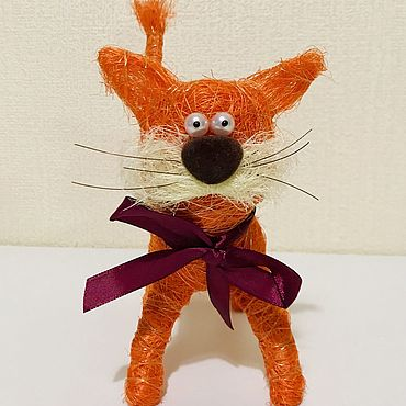 Сувениры и подарки ручной работы. Ярмарка Мастеров - ручная работа Рыжий кот. Handmade.