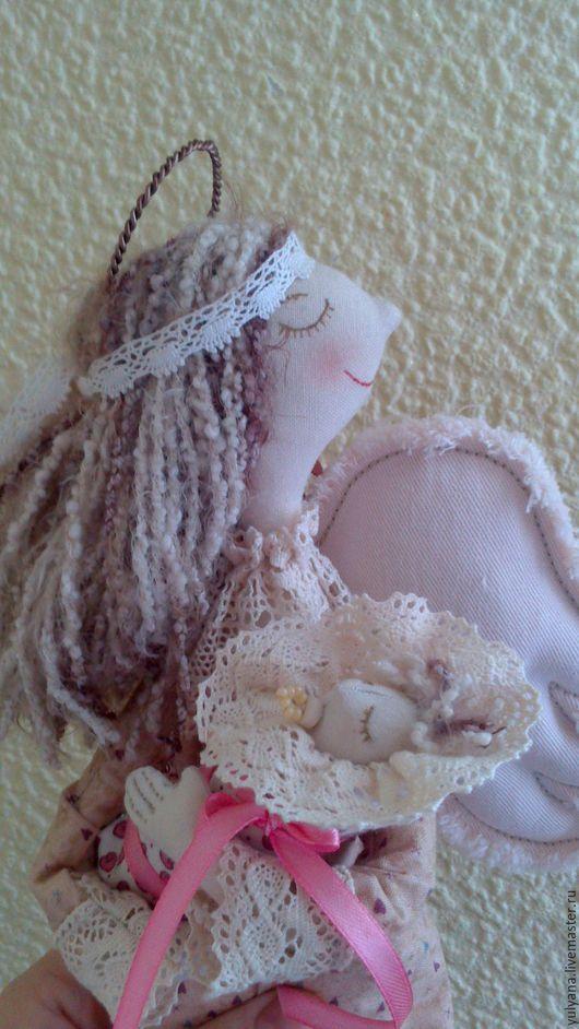 Коллекционные куклы ручной работы. Ярмарка Мастеров - ручная работа. Купить Ангел женского счастья. Handmade. Бежевый, ангел-хранитель