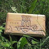 Фен-шуй и эзотерика handmade. Livemaster - original item White owl. Handmade.