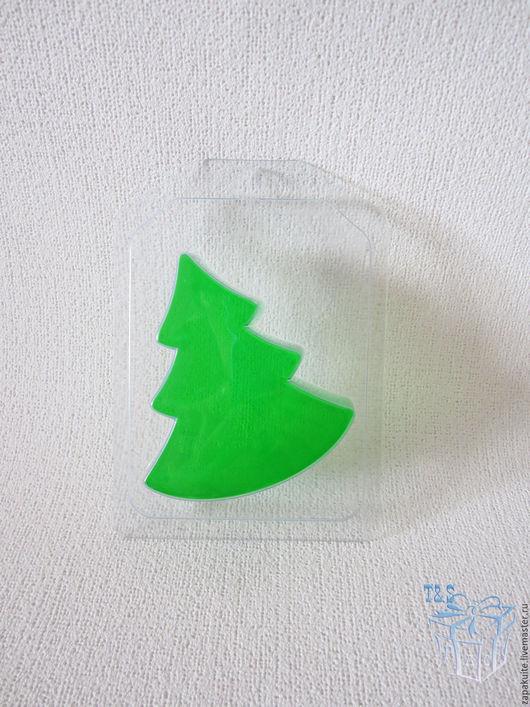 Материалы для косметики ручной работы. Ярмарка Мастеров - ручная работа. Купить Форма пластиковая для мыла, новый год, формы, елка, елочка, новогодние. Handmade.