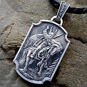 Украшения handmade. Livemaster - original item Pendant / Amulet - Perun from silver of 925. Handmade.