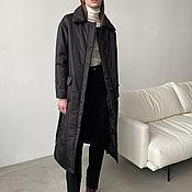 Одежда handmade. Livemaster - original item Insulated backpack coat with Kioto belt. Handmade.