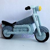 """Куклы и игрушки ручной работы. Ярмарка Мастеров - ручная работа Мотоцикл """"Харлей"""". Handmade."""