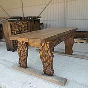 Для дома и интерьера ручной работы. Ярмарка Мастеров - ручная работа стол средний-1. Handmade.