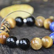 Украшения handmade. Livemaster - original item Men`s bracelet, personal talisman with antique ji, silver. Handmade.