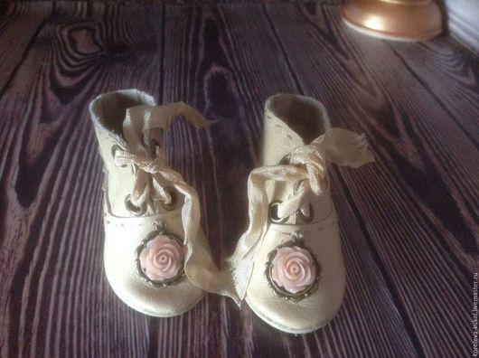 Одежда для кукол ручной работы. Ярмарка Мастеров - ручная работа. Купить Роза в пыли.... Handmade. Кукла антикварная, туфли для кукол