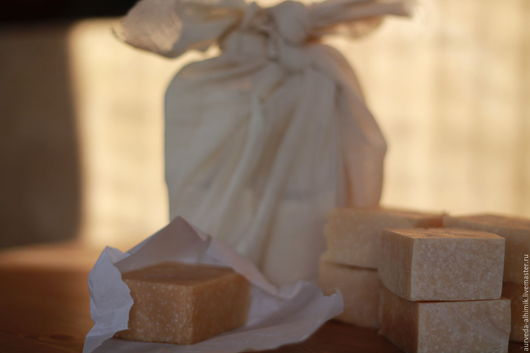 Мыло ручной работы. Ярмарка Мастеров - ручная работа. Купить 5 Амрит  - молочное мыло для нежной кожи. Handmade. Бежевый