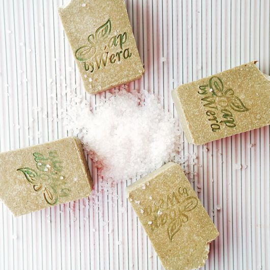 Мыло ручной работы. Ярмарка Мастеров - ручная работа. Купить Сапропель и морская соль, натуральное мыло ручной работы. Handmade.