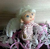 """Куклы и игрушки ручной работы. Ярмарка Мастеров - ручная работа """"Ты мой Ангел..."""".Текстильная кукла.. Handmade."""