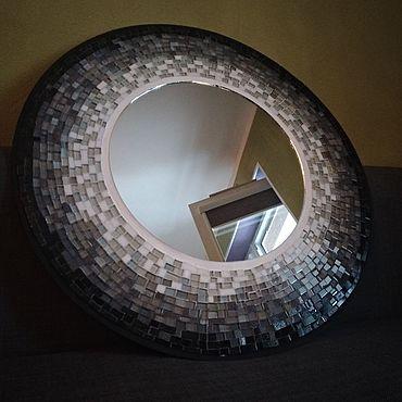 Для дома и интерьера. Ярмарка Мастеров - ручная работа Зеркала: Декоративное зеркало из мозайки. Handmade.