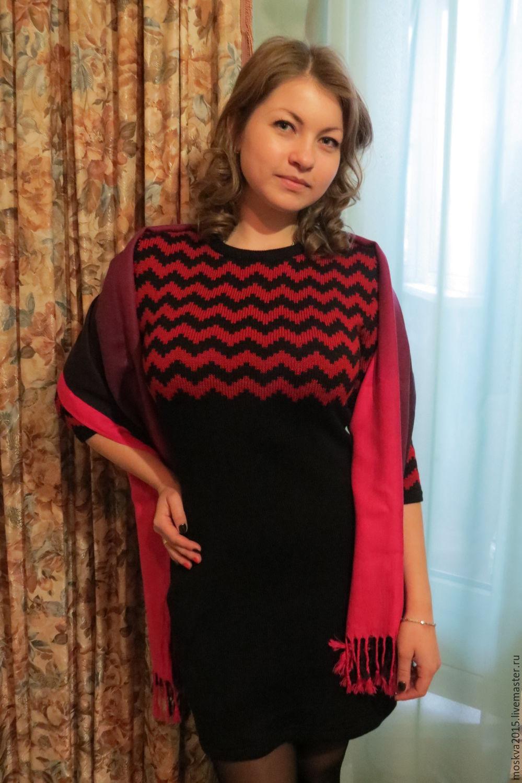 Платье Зигзаги, Платья, Москва, Фото №1