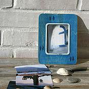 """Фоторамки ручной работы. Ярмарка Мастеров - ручная работа Фоторамки: """"Рыбы"""" с авторскими фотографиями. Handmade."""