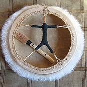 Музыкальные инструменты handmade. Livemaster - original item Tambourine shaman. Handmade.
