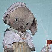Куклы и игрушки ручной работы. Ярмарка Мастеров - ручная работа Поросёнок. Хрюнделёк. Морячок.. Handmade.