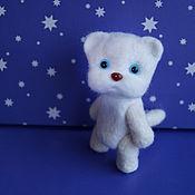 Куклы и игрушки ручной работы. Ярмарка Мастеров - ручная работа Любимый котик, 8,5 см. Handmade.