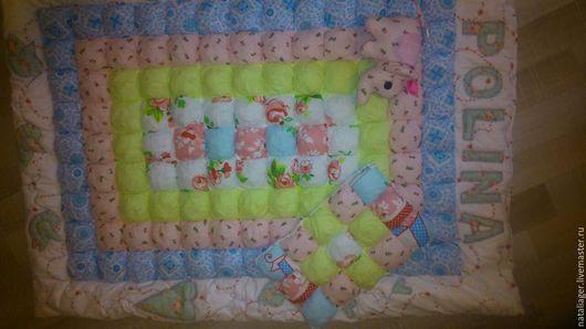 Пледы и одеяла ручной работы. Ярмарка Мастеров - ручная работа. Купить Именные одеяла для крошек. Handmade. Комбинированный, одеяло детское