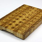 Для дома и интерьера handmade. Livemaster - original item End cutting Board №91. Handmade.