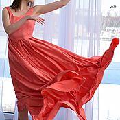 Одежда handmade. Livemaster - original item ... Prom is coming up ! Long floor-length dress. Handmade.
