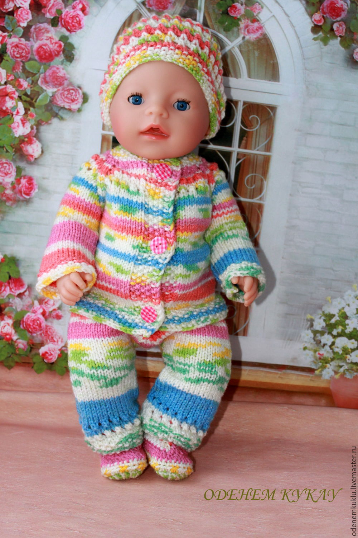 Вязание для кукол беби борн схемы крючком