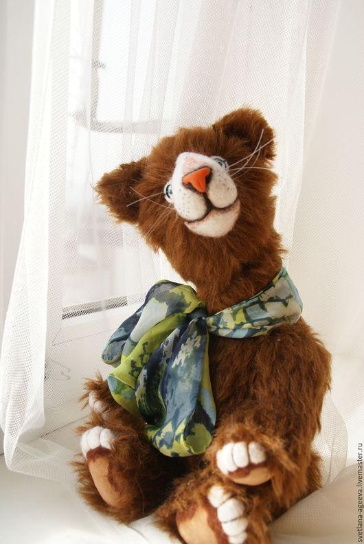Мишки Тедди ручной работы. Ярмарка Мастеров - ручная работа. Купить Рыжик. Handmade. Рыжий, котик, мохер