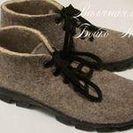 Валяная обувь Бойко Алины (BoykoAlina) - Ярмарка Мастеров - ручная работа, handmade
