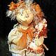 """Сказочные персонажи ручной работы. Ярмарка Мастеров - ручная работа. Купить ангелочек """"Веснушечка"""" (12). Handmade. Ангел, интерьерная кукла"""