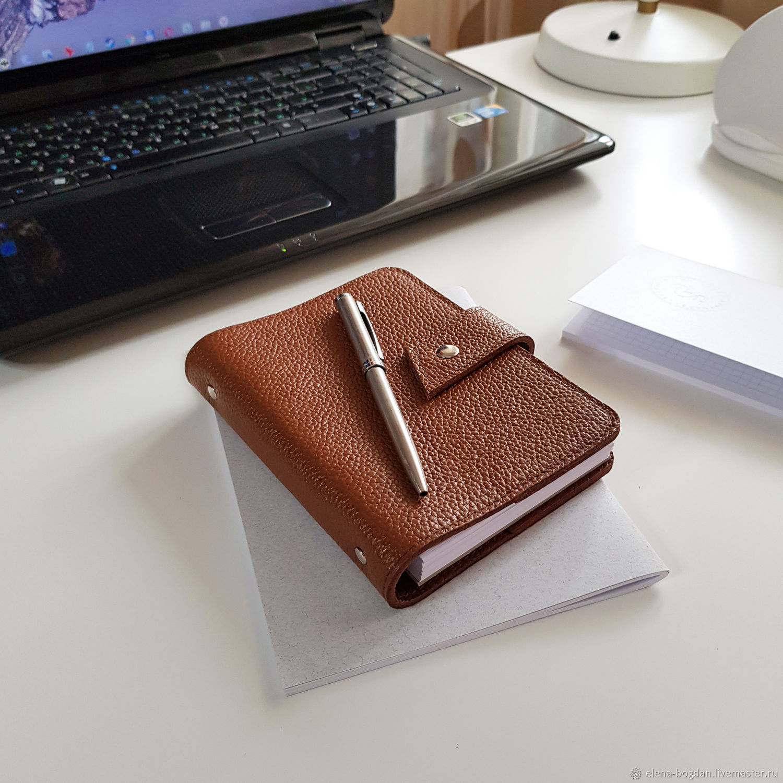 Блокнот Sensa Classic A6 коричневый, Блокноты, Москва,  Фото №1