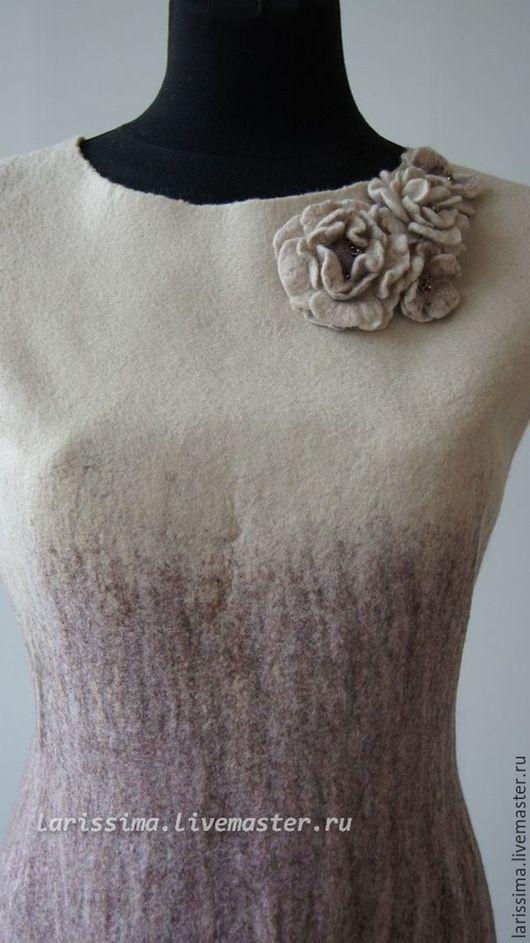 Платья ручной работы. Ярмарка Мастеров - ручная работа. Купить платье-футляр. Handmade. Разноцветный, платье ручной работы, осень