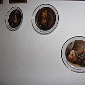 Предметы интерьера винтажные ручной работы. Ярмарка Мастеров - ручная работа Коллекция винтажных тарелок Элитный баварский фарфор. Handmade.