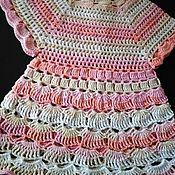 Платья ручной работы. Ярмарка Мастеров - ручная работа Платье нежное летнее. Handmade.