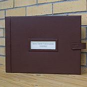 Канцелярские товары handmade. Livemaster - original item Photo album with blank pages. Handmade.