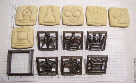 Вырубка плюс 6 штампов для печенья.