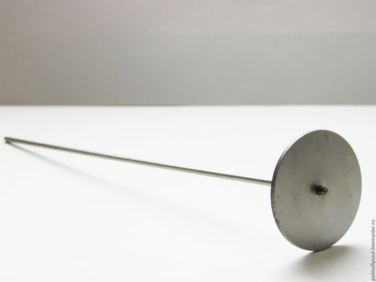 """Другие виды рукоделия ручной работы. Ярмарка Мастеров - ручная работа. Купить Мандрель под кабошон """"круг"""" (d 45мм). Handmade."""
