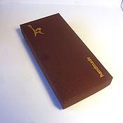 Материалы для творчества ручной работы. Ярмарка Мастеров - ручная работа Коробка с вашим логотипом (шелкография золотом по фактурному) 18х8х3. Handmade.