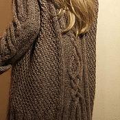 """Одежда ручной работы. Ярмарка Мастеров - ручная работа Длинный свитер """"Аляска"""". Handmade."""