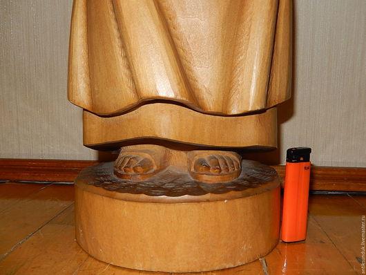 Винтажные предметы интерьера. Ярмарка Мастеров - ручная работа. Купить ПРОДАНО.Огромная деревянная скульптура ручная резьба статуэтка  фигура. Handmade.
