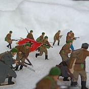 Куклы и игрушки handmade. Livemaster - original item Attack of the Soviet red army. Handmade.