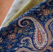 Материалы для творчества ручной работы. Ярмарка Мастеров - ручная работа Ткань для пэчворка Пейсли. Handmade.